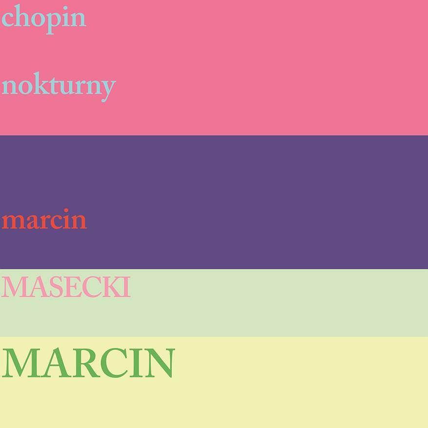 Marcin Masecki 'Chopin Nokturny' / materiały prasowe