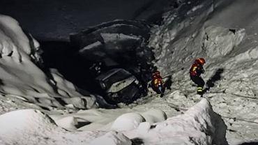 Wypadek sztabu rosyjskiej kadry biegaczy narciarskich