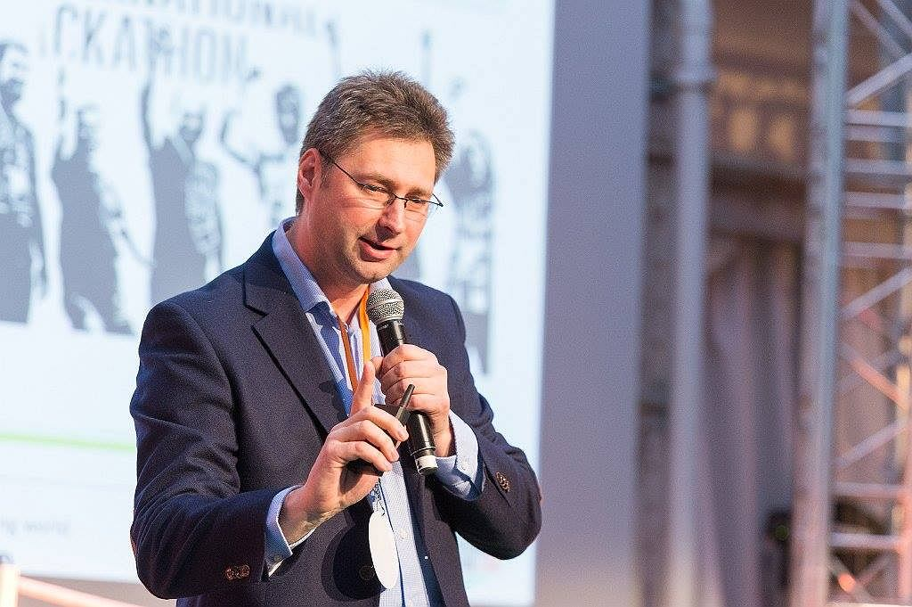Dyrektor generalny Autenti Grzegorz Wójcik