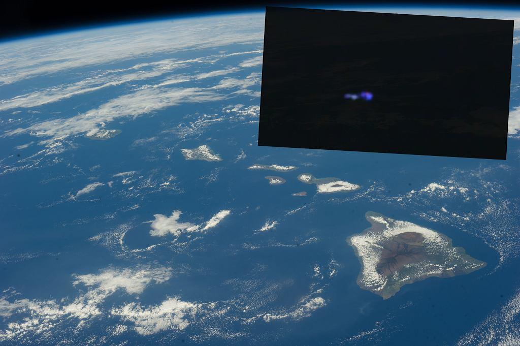 Widzino UFO nad Hawajami