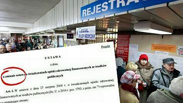 Ministerstwo Zdrowia złożyło w Sejmie projekt ustawy o tzw. sieci szpitali