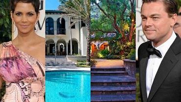 Halle Berry, domy gwiazd, Leonardo Di Caprio