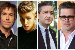 Nie tylko Robert Biedroń pofarbował włosy. Znani mężczyźni i ich fryzury