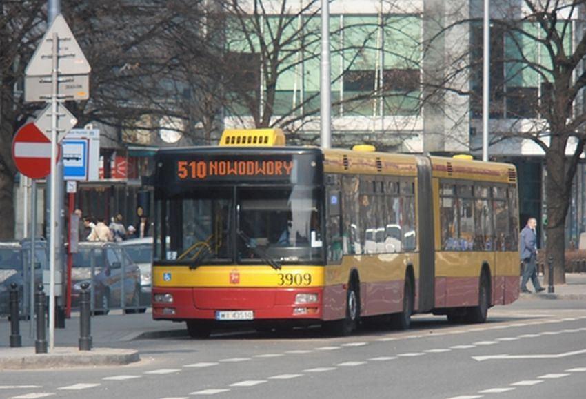 Autobus komunikacji miejskiej linii 510