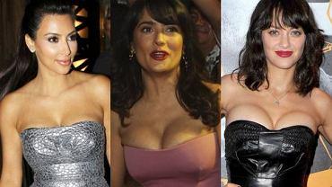 Kim Kardashian, Salma Hayek, Marion Cotillard.