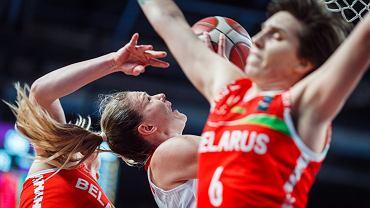 6 lutego 2021 r., kwalifikacje do kobiecego Eurobasketu 2021, mecz w tzw. bańce w Rydze: Polska - Białoruś 49:80