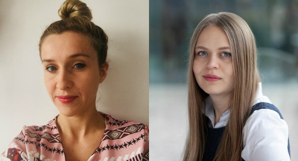 Anna Maria Szutowicz i Gabriela Grzelak współautorki projektu 'ALL YOU NEED IS... WHAT?'