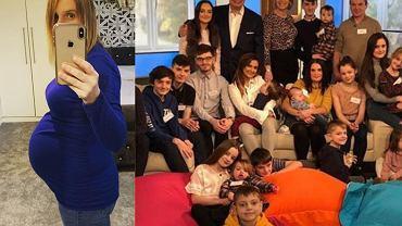 Ciężarna mama 21 dzieci zostanie babcią