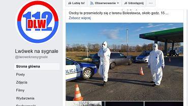 Kobieta z podejrzeniem koronawirusa została zabrana ze stacji paliw w Lwówku Śląskim