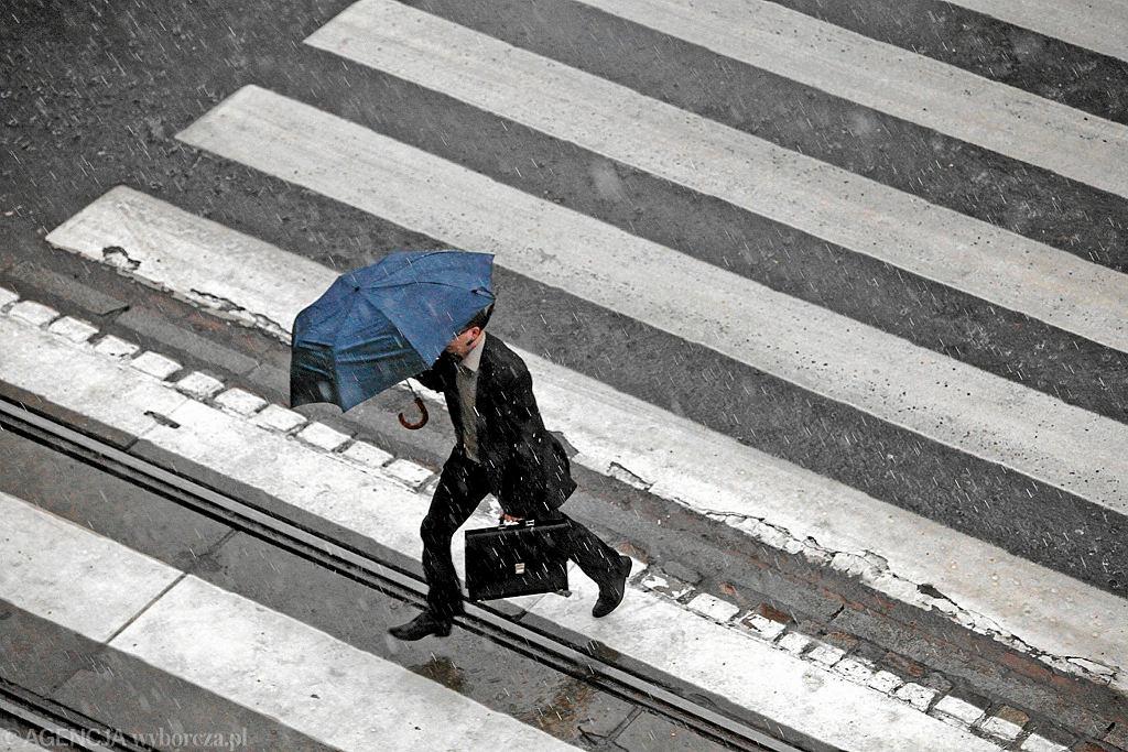Deszcz w mieście