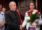 Kibice na krakowskim os. Kliny przywitali Marię Springwald [ZDJĘCIA]