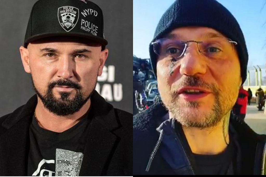 Patryk Vega i Konrad Niewolski