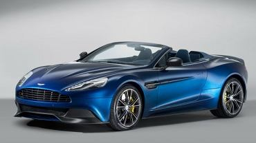 Aston Martin Vanquish Volante Convertible