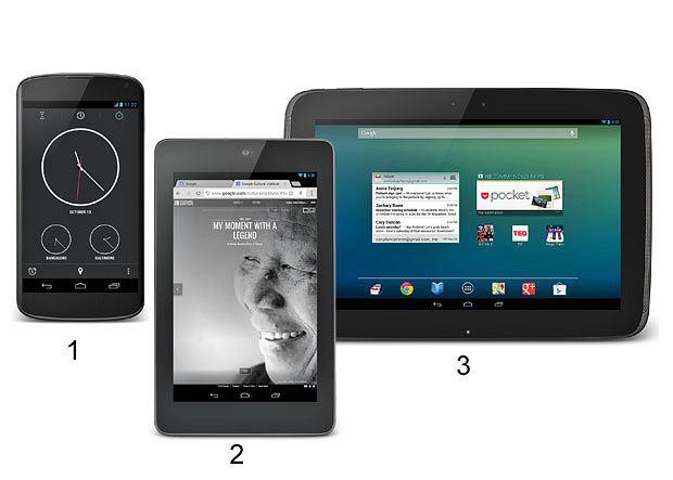 Nowe tablety i smartfony od Appla i na android, tablet, android, smartfon, lg, apple, 1. Nexus 4 by lg - cena od 300 dolarów, samsung 2. Nexus 7 by asus- cena od 200 dolarów 3. Nexus 10 by samsung- cena od 400 dolarów