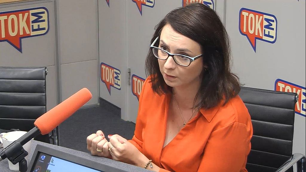 Kamila Gasiuk-Pihowicz w Poranku TOK FM
