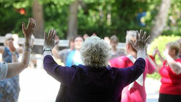 Zajęcia taneczne dla seniorów na Plantach