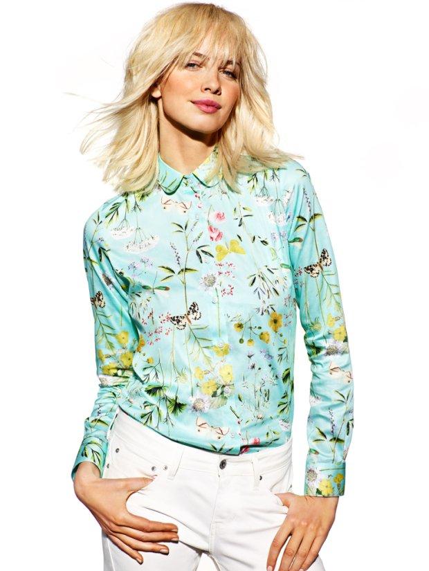 Damskie koszule z wiosennej kolekcji Wólczanka
