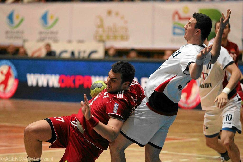 Daniel Żółtak w meczu Warmia Olsztyn - Azoty Puławy, rok 2011