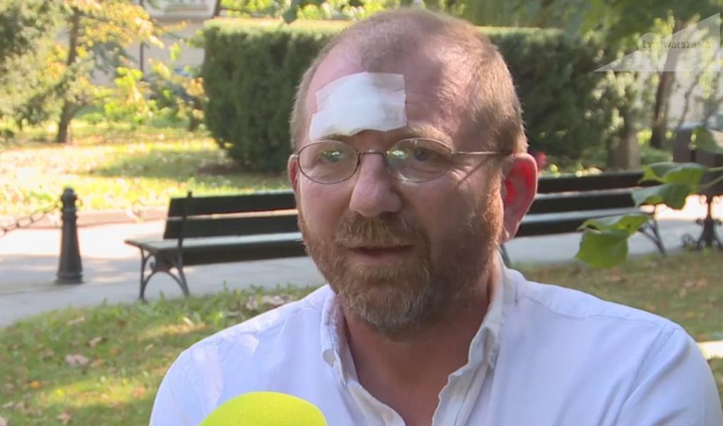 Profesor UW Jerzy Kochanowski pobity w tramwaju