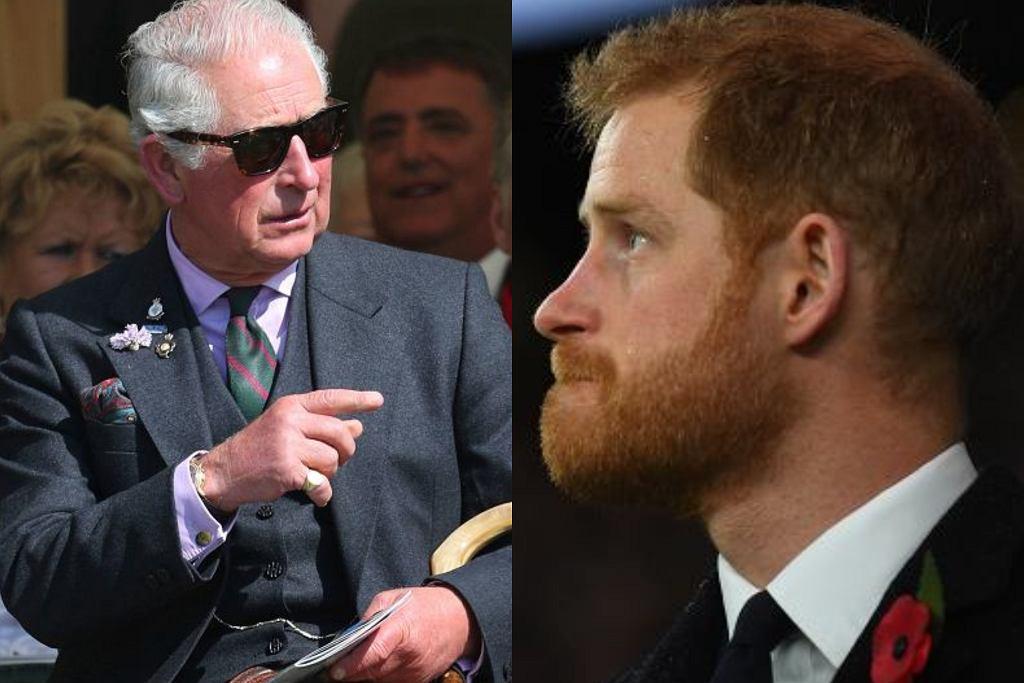 Książę Karol, książę Harry