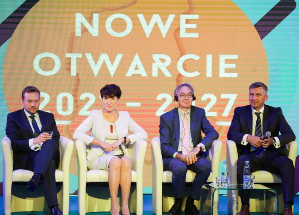 Konferencja 'Nowe Otwarcie' w Urzędzie Marszałkowskim w Zielonej Górze