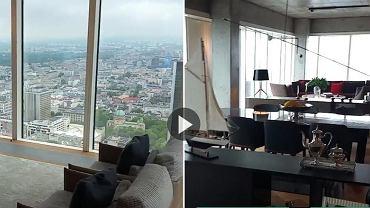 Tak wygląda luksusowe mieszkanie Roberta Lewandowskiego przy ul. Złotej w Warszawie