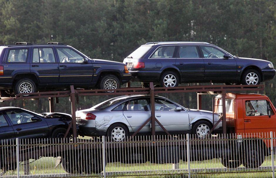 Używane samochody sprowadzone z Niemiec