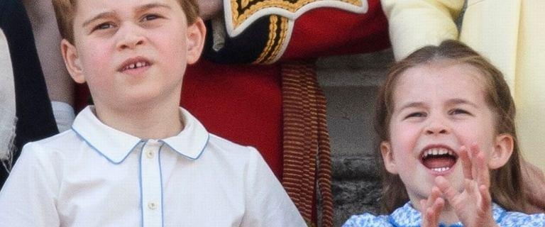 Książę George i księżniczka Charlotte spędzili dzień z rodzicami księżnej Kate