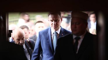 Prezydent Andrzej Duda z wizytą u Podlaskich Tatarów w Bohonikach
