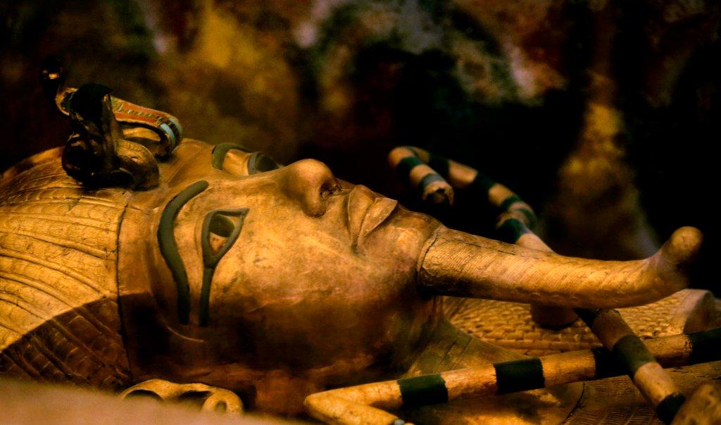 Maska mumiowa Tutanchamona