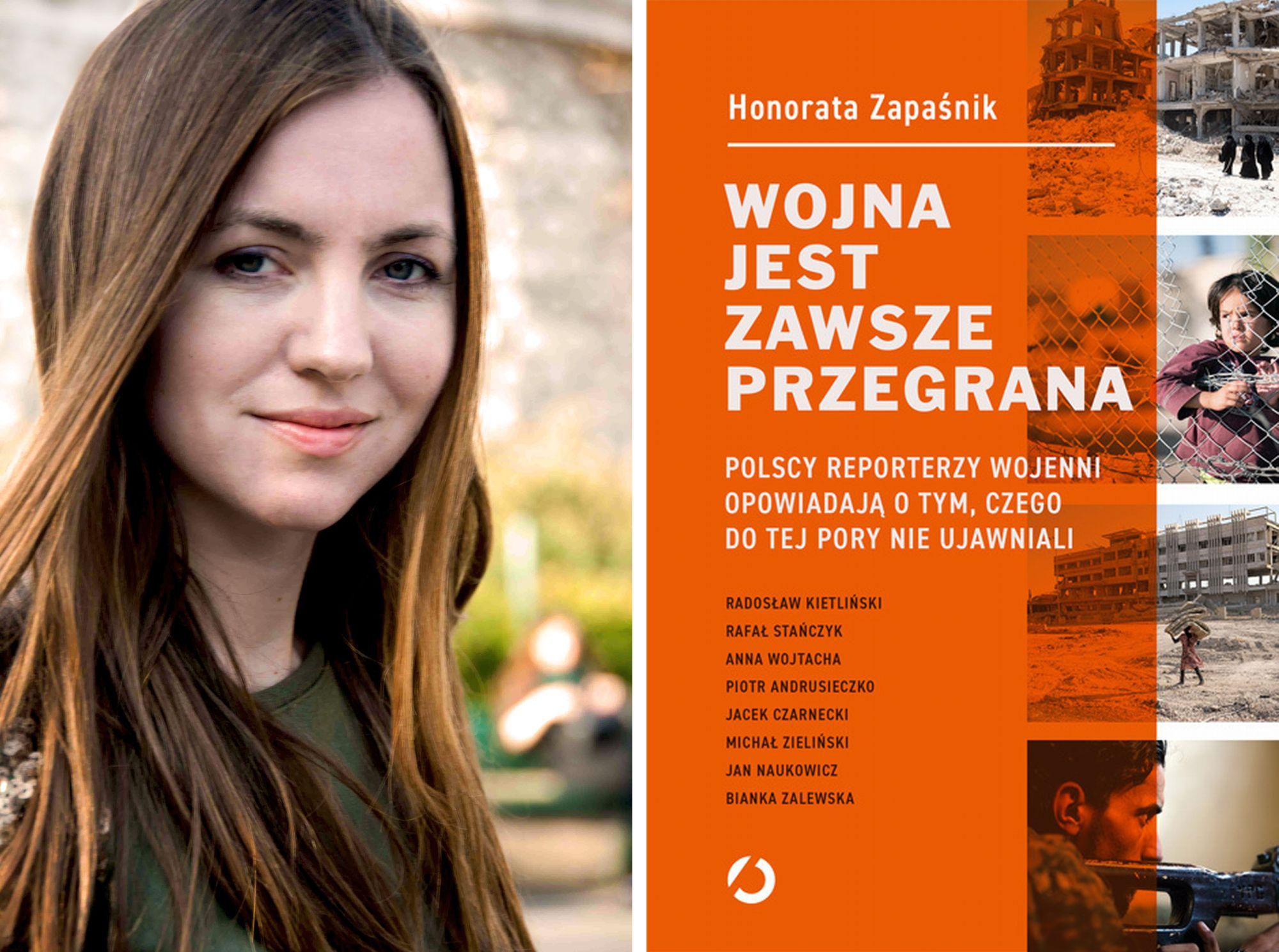 Honorata Zapaśnik i jej książka (fot. materiały prasowe)
