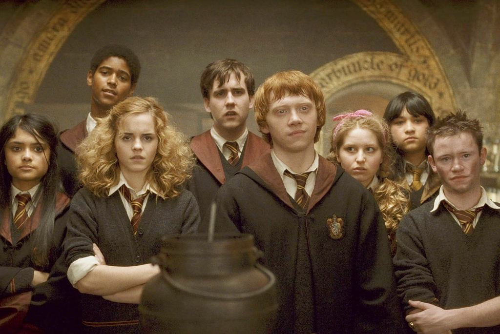Kadr z filmu 'Harry Potter'