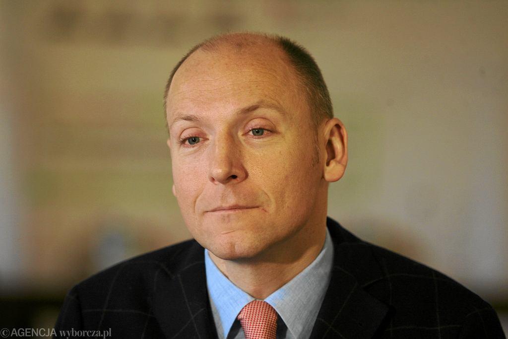 Piotr Pawłowski, zdj. z 2011 roku