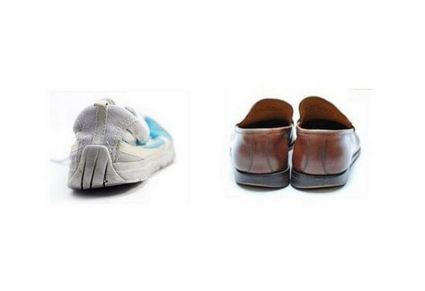 Nadmierne zużywanie zewnętrznej krawędzi podeszwy w butach