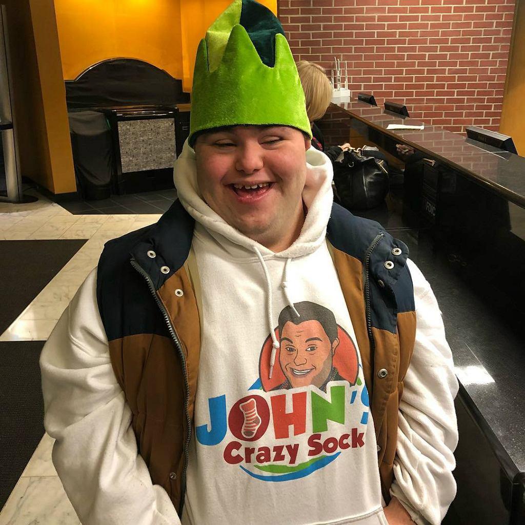 Skarpetkowy biznes Johna okazał się strzałem w dziesiątkę.