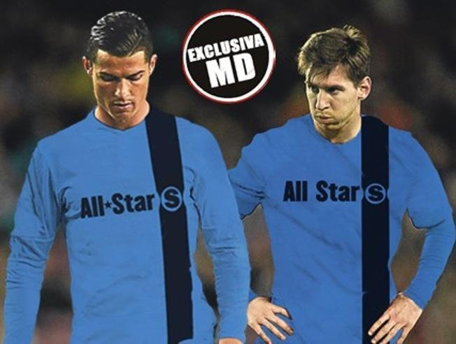 Lionel Messi i Cristiano Ronaldo w