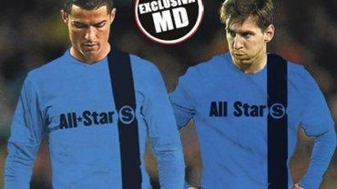 """Lionel Messi i Cristiano Ronaldo w """"Meczu Gwiazd""""?"""