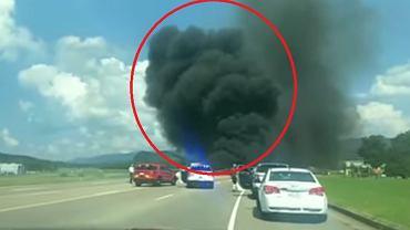 Dale Earnhardt Jr udem uniknął śmierci w katastrofie lotniczej.