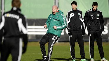Henning Berg i piłkarze Legii