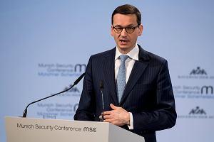 """""""Wiadomości"""" w TVP 1 przemilczały wypowiedź Morawieckiego o """"żydowskich sprawcach"""""""