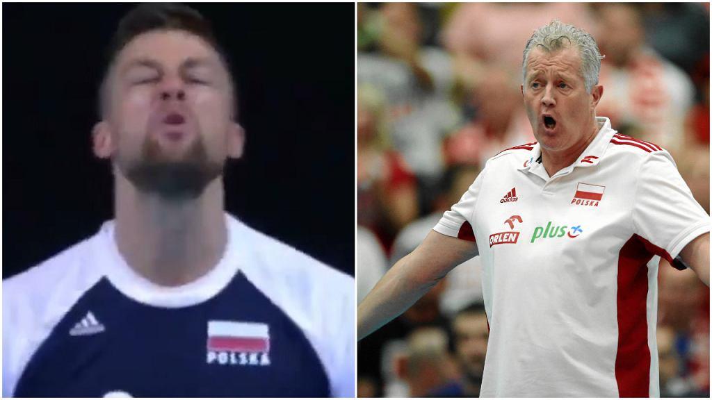 Michał Kubiak i Vital Heynen
