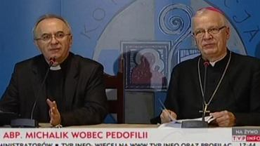 Ks. Józef Kloch i abp Józef Michalik