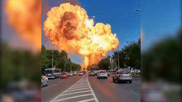 Wybuch paliwa w Wołgogradzie