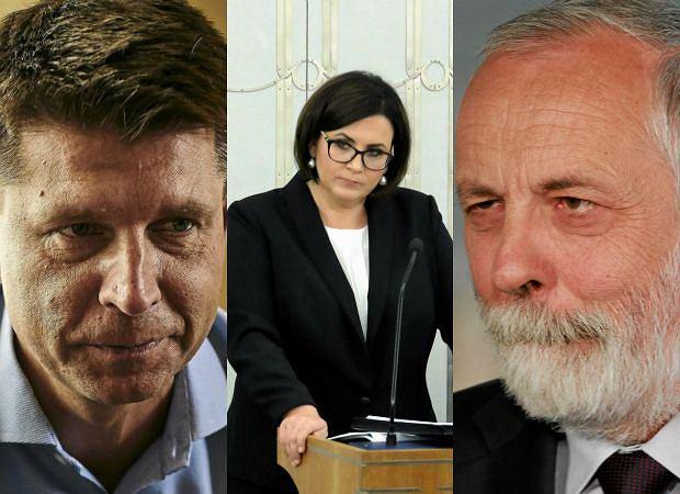 Ryszard Petru, Małgorzata Sadurska, Rafał Grupiński