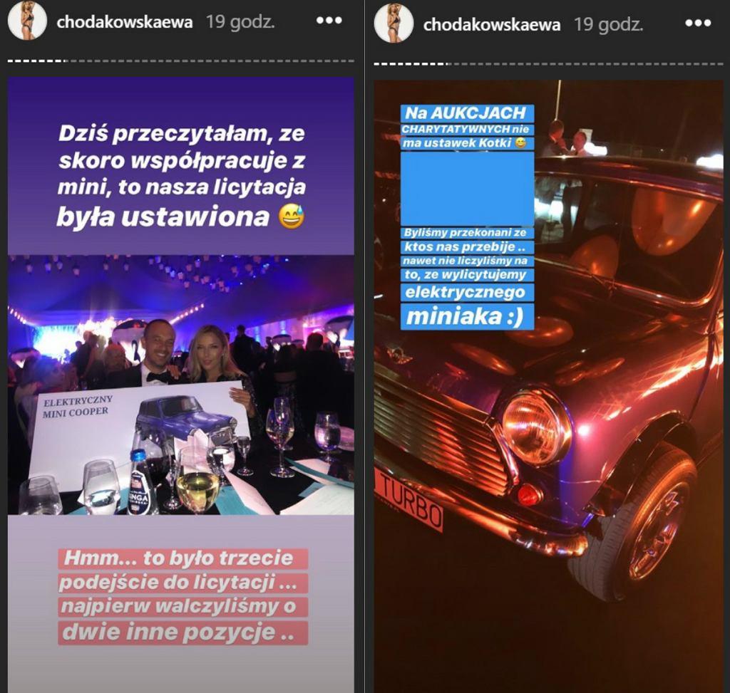 Ewa Chodakowska na balu TVN wylictowała samochód. Fani podejrzewali ustawkę