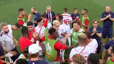 Haris Seferović spoliczkował Breela Embolo