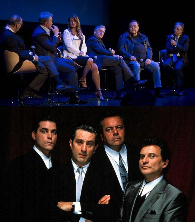 Scenarzysta, Nicholas Pileggi, Ray Liotta, Lorraine Bracco, Robert De Niro,  Paul Sorvino/ Chłopcy z ferajny