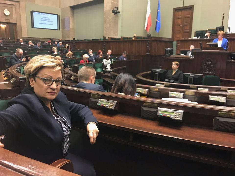 Mirosława Nykiel w Sejmie
