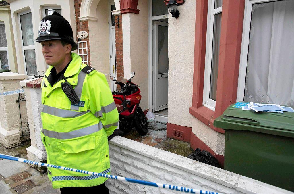 Oficer brytyjskiej policji