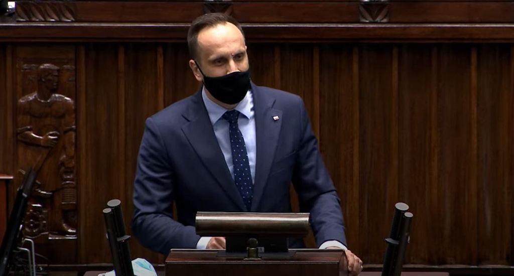 Janusz Kowalski w Sejmie